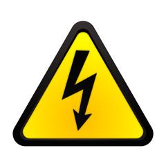 Schild - Achtung Strom