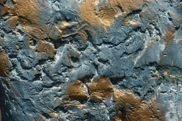 Bronze surface with patina - as background