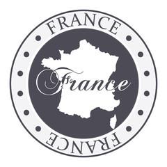 France stamp.
