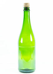 Photos of wine bottles on white background.