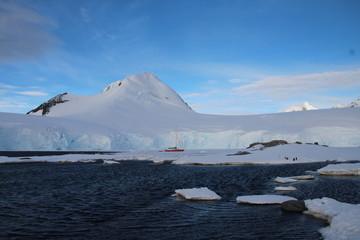 Sailing Antarctica, Port Lockroy