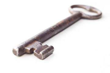 Old rusty key