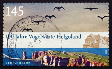 Postage stamp Germany 2010 Bird Observatory Helgoland