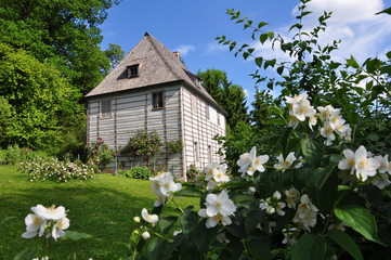 Weimar - Goethes Gartenhaus