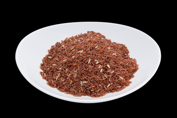 Brown Rice close-up