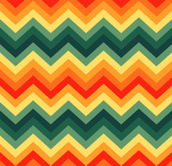 Geometric zigzag seamless pattern
