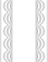 Decorative Border white-gray_center_1