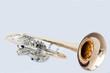 Leinwanddruck Bild - Trompete