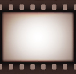 Vintage retro old film strip background