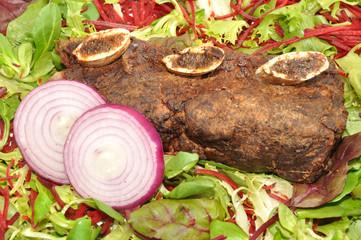 Meaty Roast Beef Rib