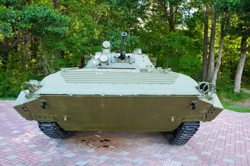 Russian mechanized infantry combat vehicle.