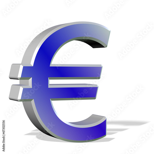 canvas print picture Eurosymbol