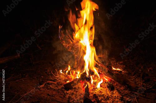 In de dag Vuur / Vlam hot flame of fire