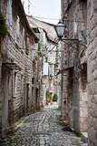 Fototapety Old Stone Narrow Streets of Trogir, Croatia