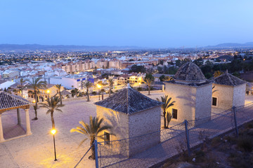Old town of Lorca, province of Murcia, Spain