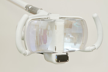 dental lamp in dental clinic
