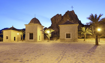 El Calvario (calvary) church in Lorca, Murcia, Spain