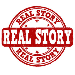 Real story stamp