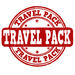 Travel pack stamp
