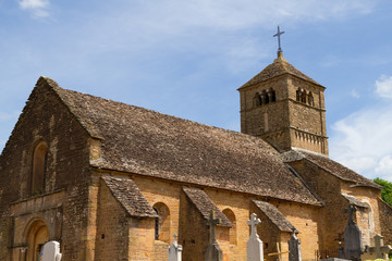 Church of Ameugny