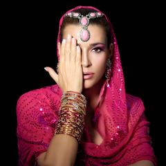Beauty Ethnic Woman
