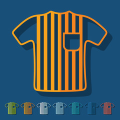 Flat design: referee