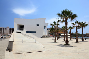 Auditorium and Congress Palace in Aguilas, Spain