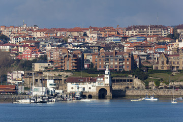 Port of Getxo, Bizkaia, Basque Country, Spain