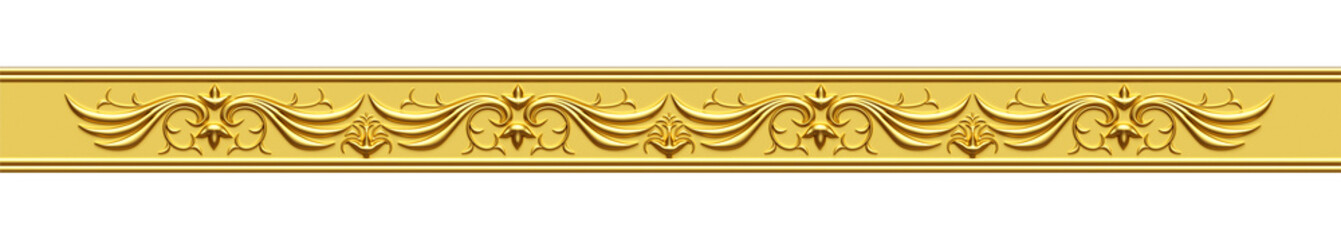 Golden Ornate Strip