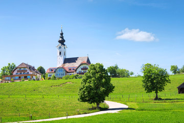 Idyllic village in Bavaria