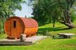 Leinwandbild Motiv Sauna