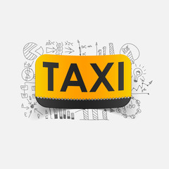 Drawing business formulas: taxi