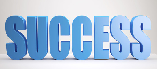 blue Success sign