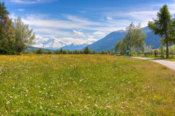 Graun im Vinschgau, Bozen, Trentino, Zuid-Tirol, Italië