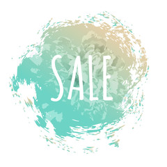 Blue Sale Poster