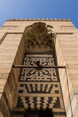 Door  at Al-Hussein Mosque , cairo in egypt