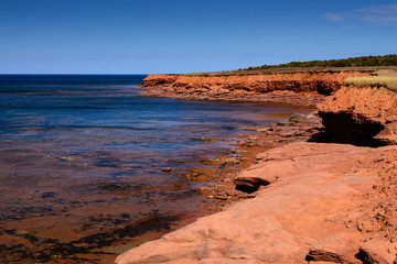 Prince Edward Island Red Cliffs of North Shore