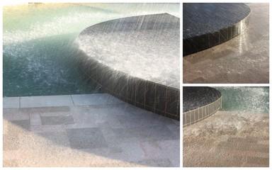 L'eau en bassin