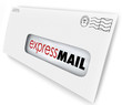 Express Mail Fast Expedited Shipment Delivery Letter Message