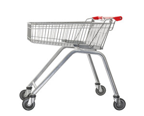 used shopping trolley