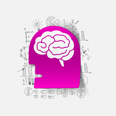 Drawing business formulas: head