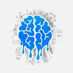 Drawing business formulas: brain