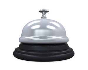 Reception Bell Isolated