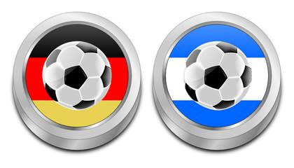 Soccer Final Germany vs Argentina