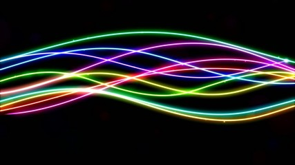 Rainbow Lines Animation