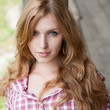 red haired cowgirl