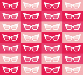women's sunglasses with pink glasses pattern