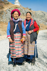 Tibetan women