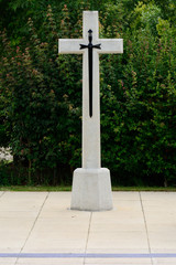 Memorial cross for Suez Canal crisis