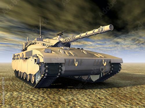 Izraelski czołg główny Merkava
